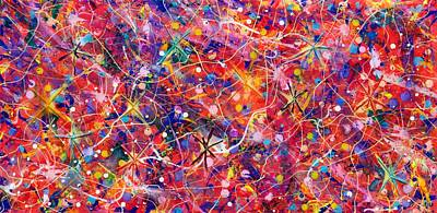 Painting - Party Time by Patrick OLeary