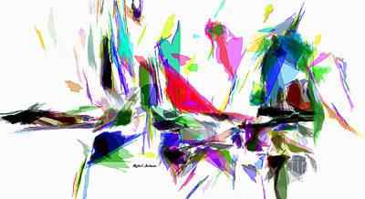 Digital Art - Party Time by Rafael Salazar