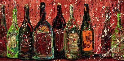 Party Wine Art Print by Jodi Monahan