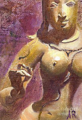 Hindu Goddess Painting - Parvati by Ann Radley