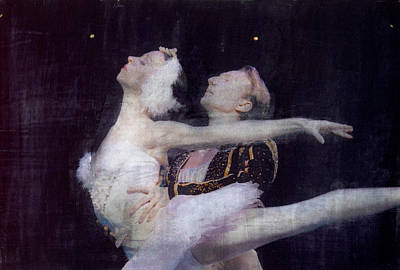Mixed Media - Pas De Deux by Bob Senesac