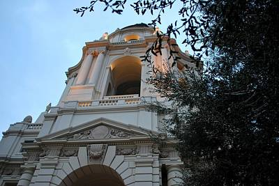 Photograph - Pasadena City Hall Angle View by Matt Harang