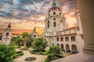Photograph - Pasadena City Hall Building by Jerome Obille