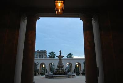 Photograph - Pasadena City Hall Courtyard by Matt Harang