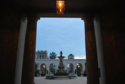 Photograph - Pasadena City Hall Courtyard by Matt Harang