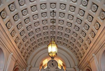 Photograph - Pasadena City Hall Entry Way by Matt Harang