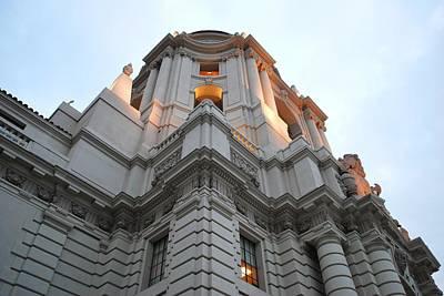 Photograph - Pasadena City Hall Side Angle by Matt Harang