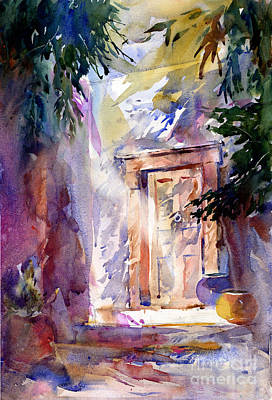 Painting - Pasadena Doorway by John Byram