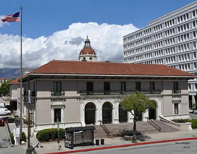 Pasadena's Plaza Station Post Office Art Print