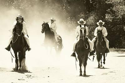 Photograph - Paso Horse Riders by Joseph Frank Baraba