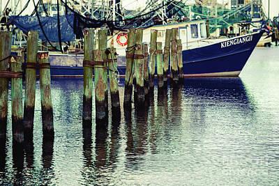 Photograph - Pass Christian Harbor Boat by Joan McCool