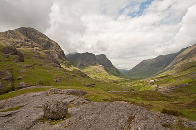Scotland Photograph - Pass Of Glencoe by Colette Panaioti