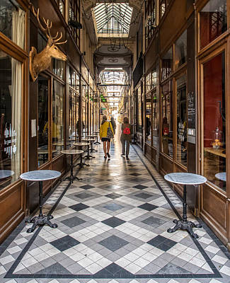 Passage Du Grand Cerf Art Print