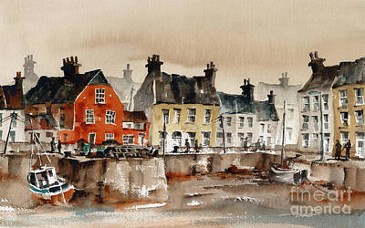Painting - Passage East Harbour, Waterford by Val Byrne
