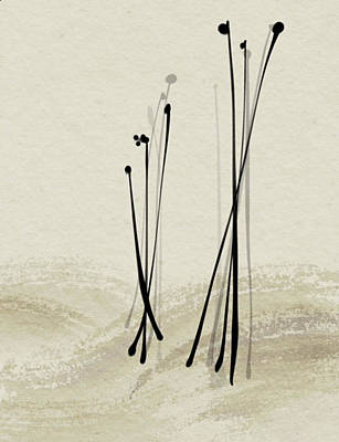 Digital Art - Passage Of Reeds by Casey Shannon