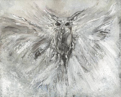 Painting - Passage Of Spirit -  The Guardian  by Rae Ann  M Garrett