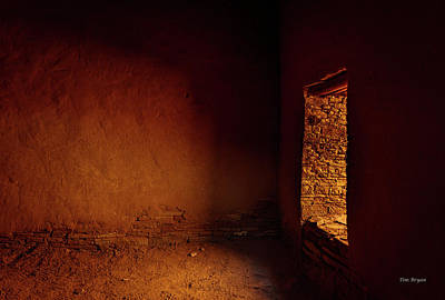 Photograph - Passage Shadows- Chaco Canyon by Tim Bryan