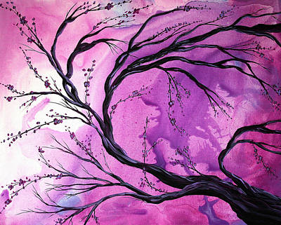 Handmade Painting - Passage Through Time By Madart by Megan Duncanson