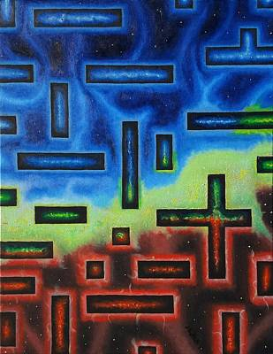 Blue Painting - Passages by Dave Martsolf
