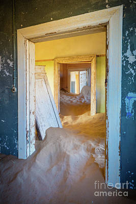 Delapidated Photograph - Passages by Inge Johnsson