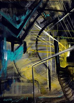 Expressionism Painting - Passages by Sharon Wilfong