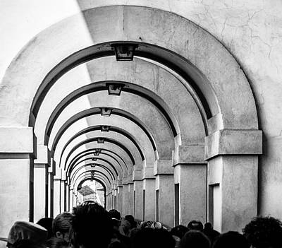 Photograph - Passageway At The Arno by Gary Karlsen