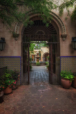 Photograph - Passageway by David Cote