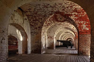 Photograph - Passageways Of Fort Pulaski by Greg Mimbs