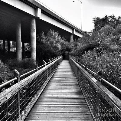 Photograph - Passageways by Vennie Kocsis