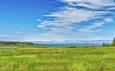 Photograph - Passamaquoddy Bay by John M Bailey