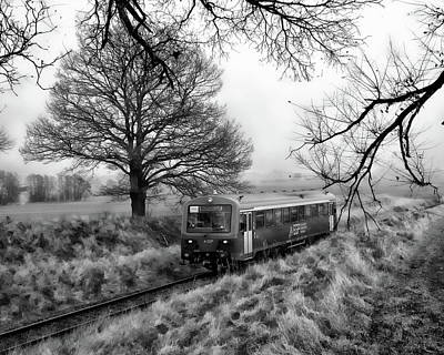 Photograph - Passenger Train Travel by Anthony Dezenzio