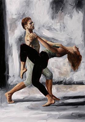 Paintings - Passi Di Danza by Guido Borelli
