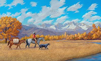 Painting - Passin' Through by Howard Dubois
