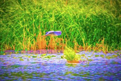 Bluegill Digital Art - Passing Artistic. by Leif Sohlman
