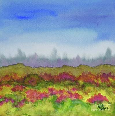 Painting - Passing Autumn Scenery by Barrie Stark
