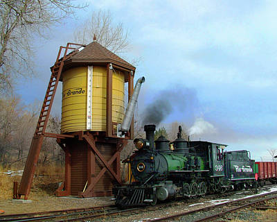 Colorado Railroad Museum Photograph - Passing By by Ken Smith