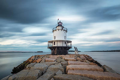 Photograph - Passing Clouds At Spring Point by Jesse MacDonald