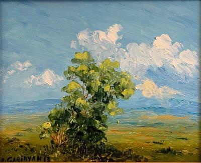 Passing Clouds Art Print