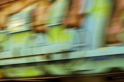 Photograph - Passing Fancy - Train Graffiti 1 by Jane Eleanor Nicholas