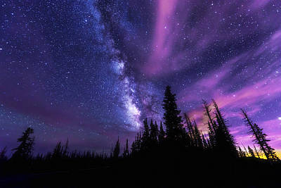 Milky Way Photograph - Passing Hours by Chad Dutson