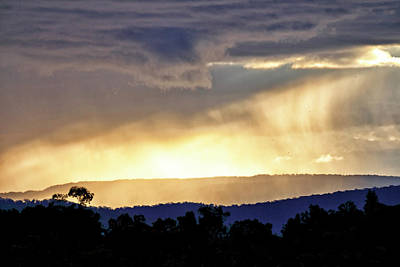 Photograph - Passing Showers by Nicholas Blackwell