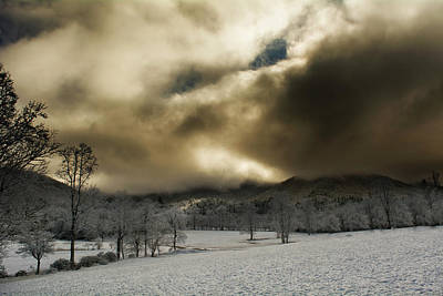 Photograph - Passing Snow In North Carolina by Greg Mimbs