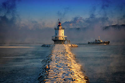 Photograph - Passing The Lighthouse by Rick Berk
