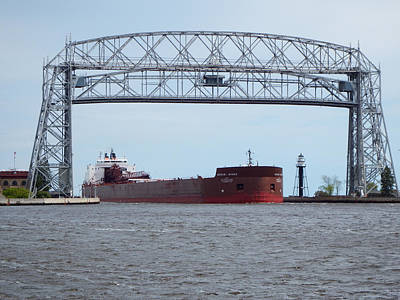 Duluth Photograph - Passing Through by Alison Gimpel