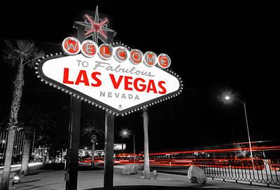 Photograph - Passing Through - Las Vegas Nevada by Gregory Ballos