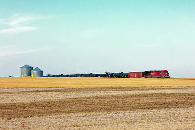 Canadian Pacific Photograph - Passing Through by Todd Klassy