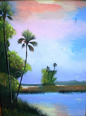 Jhon Painting - Passing View by Francis Roberts ll