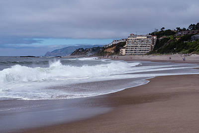 Photograph - Passing Waves by Steven Clark