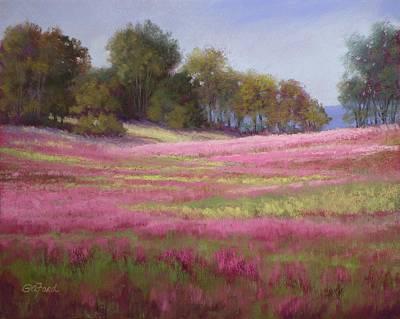 Passion Field Art Print by Paula Ann Ford