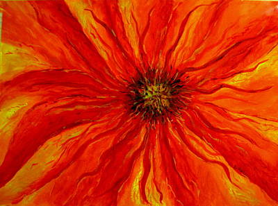 Painting - Passion Flower by Arlene Holtz